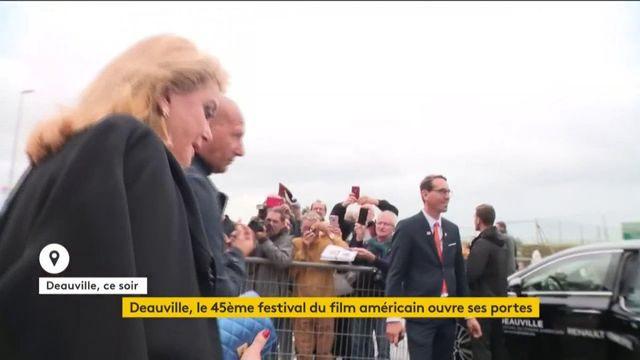 Coup d'envoi du45e Festival de Deauville