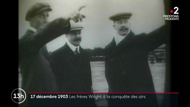 Aviation : le 17 décembre 1903, le premier vol des frères Wright