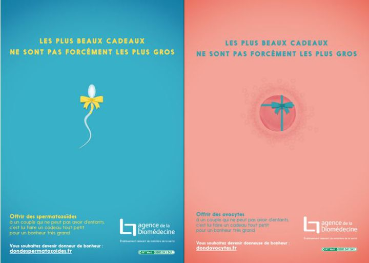Campagne de l'Agence de biomédecine lancée en 2015. (DR)