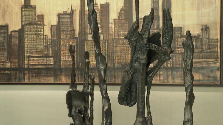 Des sculptures exposées au musée d'Art moderne de Fontevraud. (Abbaye de Fontevraud)