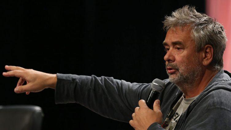 """Luc Besson à Pékin prépare un film de science fiction adapté de """"Valérian et Laureline""""  (Cai Yang / LANDOV / MAXPPP)"""