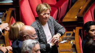 Patricia Gallerneau, le 17 octobre 2018 à l'Assemblée nationale à Paris (MAXPPP)
