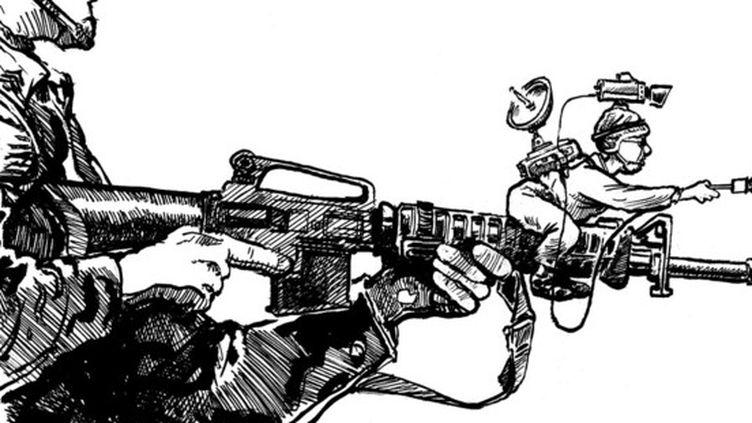 L'un des dessins du livre  (Hal/Cartooning for peace)