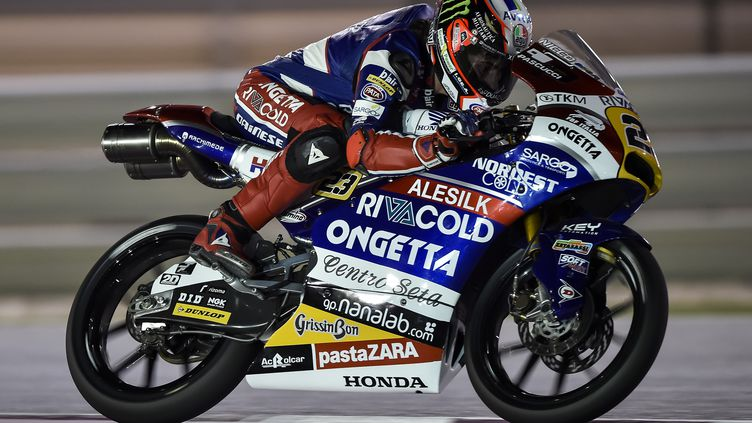 L'Italien Niccolo Antonelli (Honda) (GIGI SOLDANO / DPPI MEDIA)