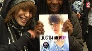 """Justin Bieber dit """"Never say Never"""" dans un film  (Culturebox)"""