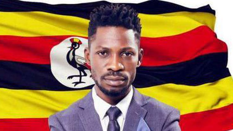 Extrait de l'affiche électorale de Bobi Wine (Affiche officielle)