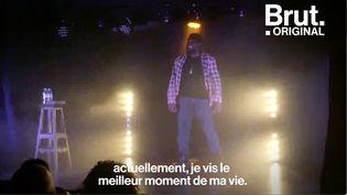 VIDEO. Edgar-Yves, celui qui a préféré le stand-up à la politique (BRUT)