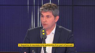 GillesPlatret, porte-parole du parti Les Républicains, était l'invité de franceinfo mardi 14 août. (FRANCEINFO)