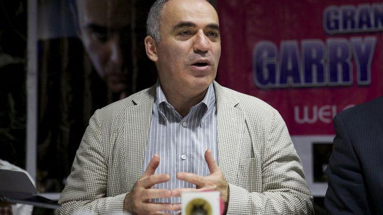 Garry Kasparov (CHRIS STEIN / AFP)