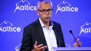 Michel Combes, ex-patron d'SFR, opérateur téléphonique. (ERIC PIERMONT / AFP)