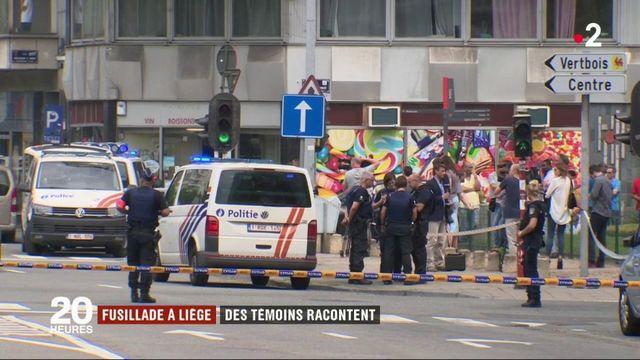 Fusillade à Liège : des témoins racontent