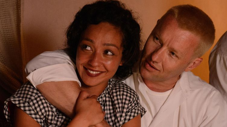 "Ruth Negga et Joel Edgerton dans ""Loving""  (Ben Rothstein © Big Beach, LLC)"