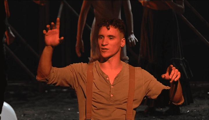 Radouan Leflahi, dans le rôle de Peer Gynt  (France 3 Culturebox Capture d'écran)