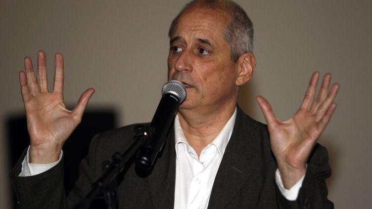 Gérard Onesta, conseiller régional d'Occitanie, le 2 décembre 2015 à Perpignan (Pyrénées-Orientales). (RAYMOND ROIG / AFP)
