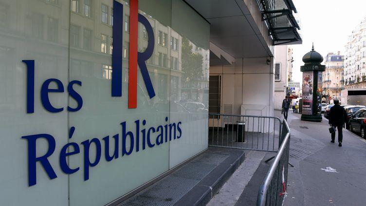 Le siège du parti Les Républicains, à Paris, en 2015. (MAXPPP)
