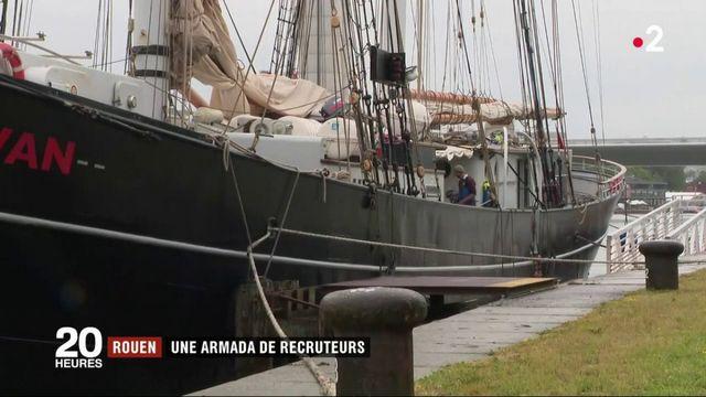 Rouen : les entreprises misent sur les touristes pour recruter des salariés