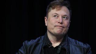 Elon Musk participe à une conférence de presse sur les projets de SpaceX, le 9 mars 2020, à Washington DC. (WIN MCNAMEE / GETTY IMAGES NORTH AMERICA / AFP)