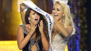 Miss Dakota du Nord élue Miss América 2017 à Atlantic City (New Jersey). (MAXPPP)