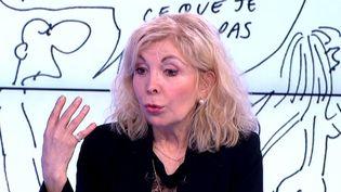 Maryse Wolinski sur le plateau du Soir3  (France 3 / Culturebox)