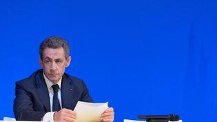 Nicolas Sarkozyle 7 novembre 2015 à la Mutualité à Paris (WITT / SIPA)