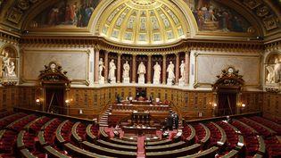 Photo d'illustration du Sénat, prise le 11 octobre 2007. (BERTRAND GUAY / AFP)