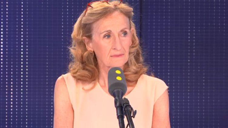 Nicole Belloubet, ministre de la Justice, sur franceinfo le mercredi 24 juillet (FRANCEINFO)