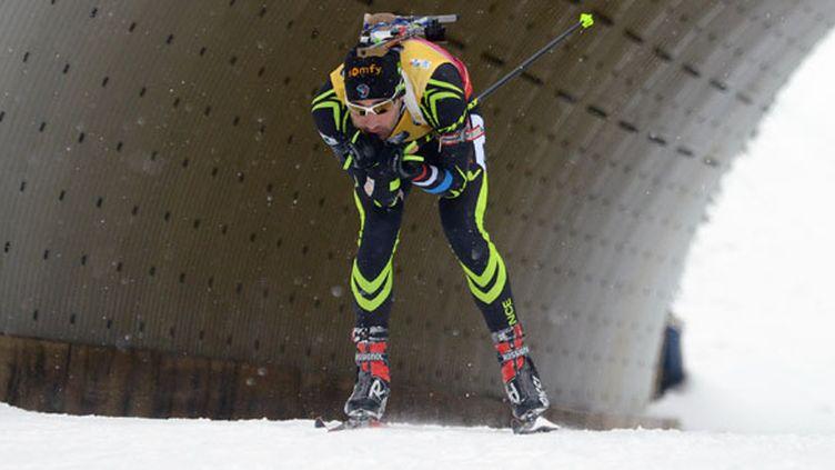 Martin Fourcade, le biathlète tricolore
