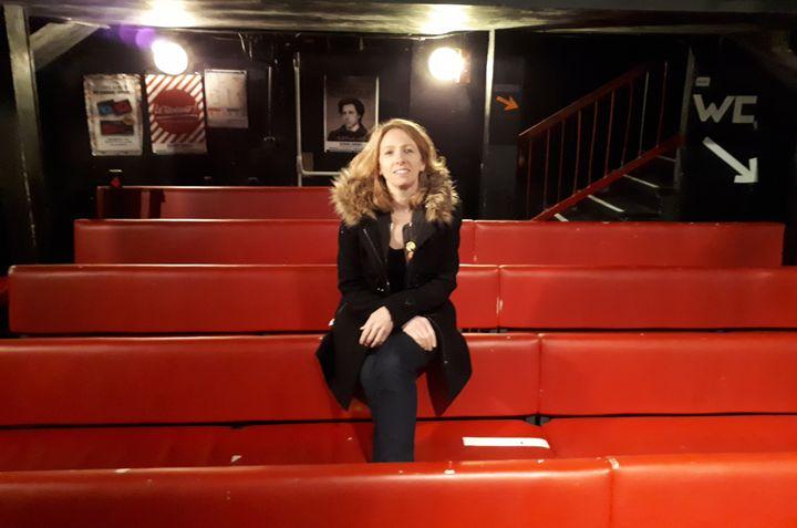 Antoinette Colin, directrice du Point virgule, célèbre salle parisienne de 100 places. (ANNE BRUNEL / RADIO FRANCE)