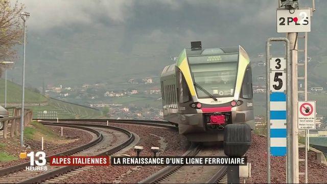 Italie : une ligne ferroviaire rouverte