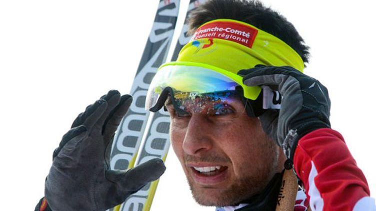 Le skieur français Jason Lamy Chappuis