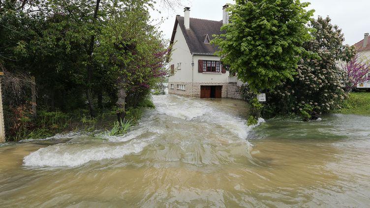 A Buchères, près de Troyes(Aube), le 7 mai 2013. (FRANCOIS NASCIMBENI / AFP)
