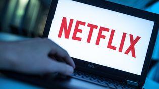 Le logo de Netflix, le 17 décembre 2016, àBerlin en Allemagne. (ALEXANDER HEINL / DPA / AFP)