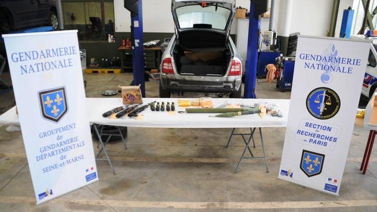 Voici les armes saisies par la gendarmerie nationale lundi 24 juin. (GENDARMERIE NATIONALE / FRANCE 2)