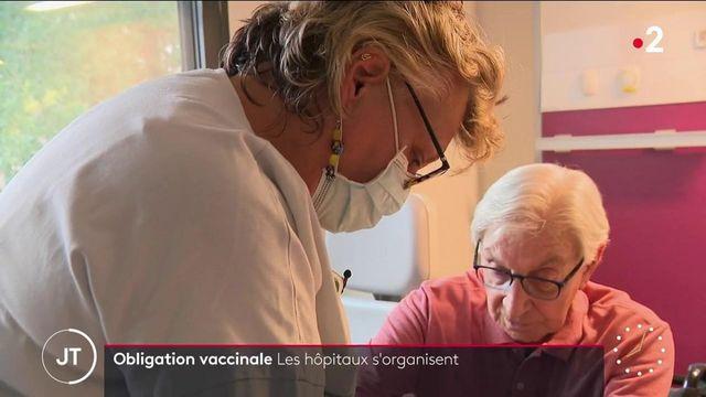 Obligation vaccinale : les hôpitaux anticipent les absences