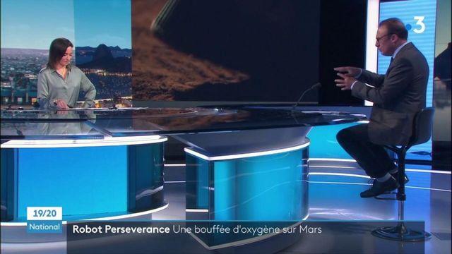 Espace : Persévérance a fabriqué de l'oxygène sur Mars