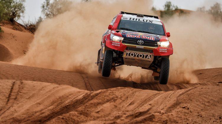 Nasser Al-Attiyah (Toyota) (JORGE CUNHA / AIFA 2)
