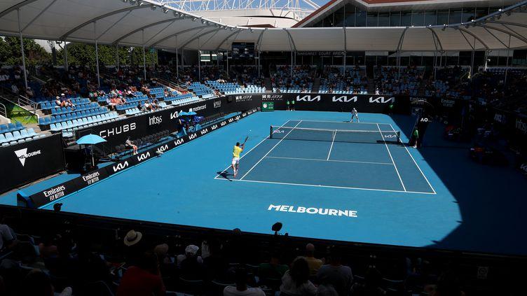 Le court N.3 de l'Open d'Australie. (BRANDON MALONE / AFP)
