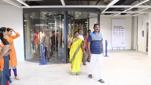Inde : Ikea ouvre son premier magasin