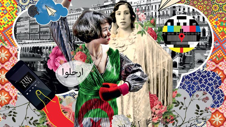 Détail de la très belle affiche de l'édition 2019 du festival de cinéma de Douarnenez (Festival du cinéma de Douarnenez / DR)