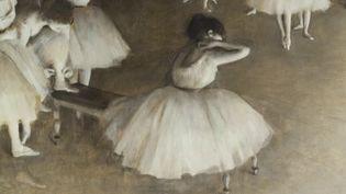 Le musée d'Orsay de Paris consacre une exposition au peintre Edgar Degas du 24 septembre au 19 janvier. (FRANCE 2)