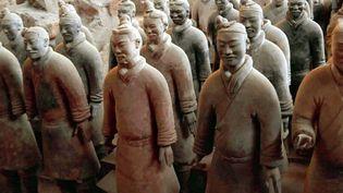 L'empereur Qin Shihuang, qui avait commandé les fameux soldats de terre cuite de Xian pour le défendre dans l'au-delà, cherchait une potion d'immortalité  (Chine Nouvelle / SIPA)