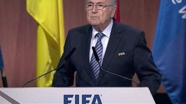 Sepp Blatter réélu président de la FIFA