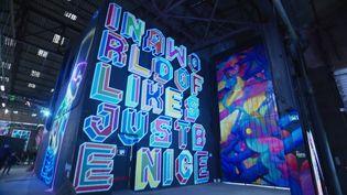 """Le festival de street art """"Peinture Fraîche"""" est à découvrir à Lyon jusqu'au 25 octobre (V. Diguat / France Télévisions)"""