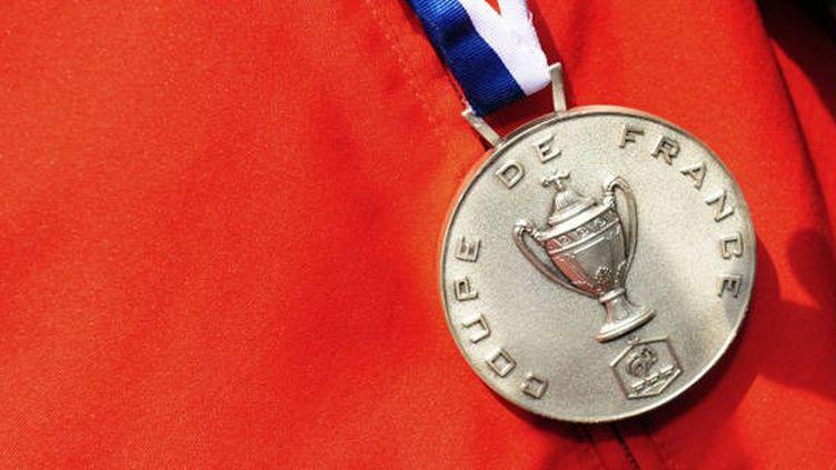 La médaille de la Coupe de France