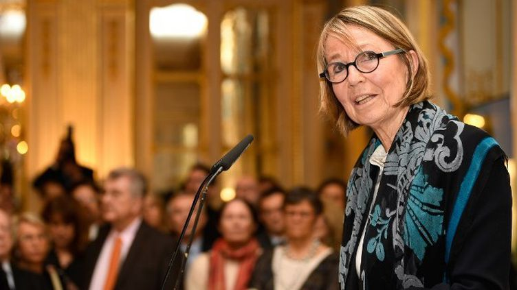 Françoise Nyssen, ministre de la Culture (2018)  (ERIC FEFERBERG / AFP)