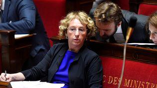 La ministre du Travail Muriel Pénicaud à l'Assemblée Nationale le 10 juillet 2017 (BERTRAND GUAY / AFP)