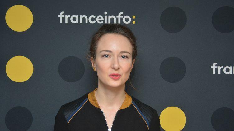 """Ada Mercier, directrice de la rédaction du """"Journal des Femmes"""". (JEAN-CHRISTOPHE BOURDILLAT / RADIO FRANCE)"""