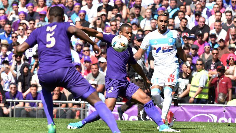 Marseille et Toulouse se sont neutralisés au Stadium (REMY GABALDA / AFP)