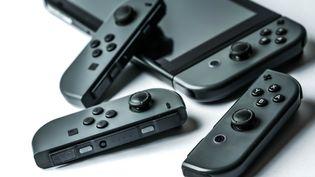 La Nintendo Switch, console vendue à 24 millions d'exemplaire depuis le premier confinement au printemps 2020. (GARO / PHANIE via AFP)