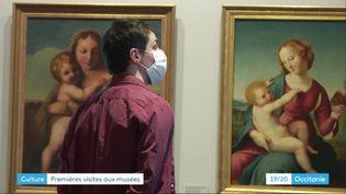 Le musée Ingres-Bourdelle de Montauban (Tarn-et-Garonne) de nouveau ouvert au public (France 3 Occitanie)